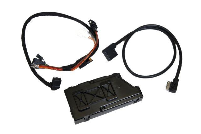 Diagram Media Digital Interface (MDI) Retrofit Kit (5N0057342B) for your 2014 Volkswagen Jetta Hybrid
