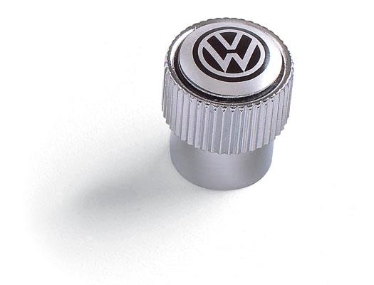 Diagram Valve Stem Caps - Black on Silver (ZVW355005A) for your 2012 Volkswagen SportWagen